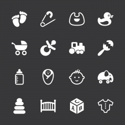 Baby Icons - White Series