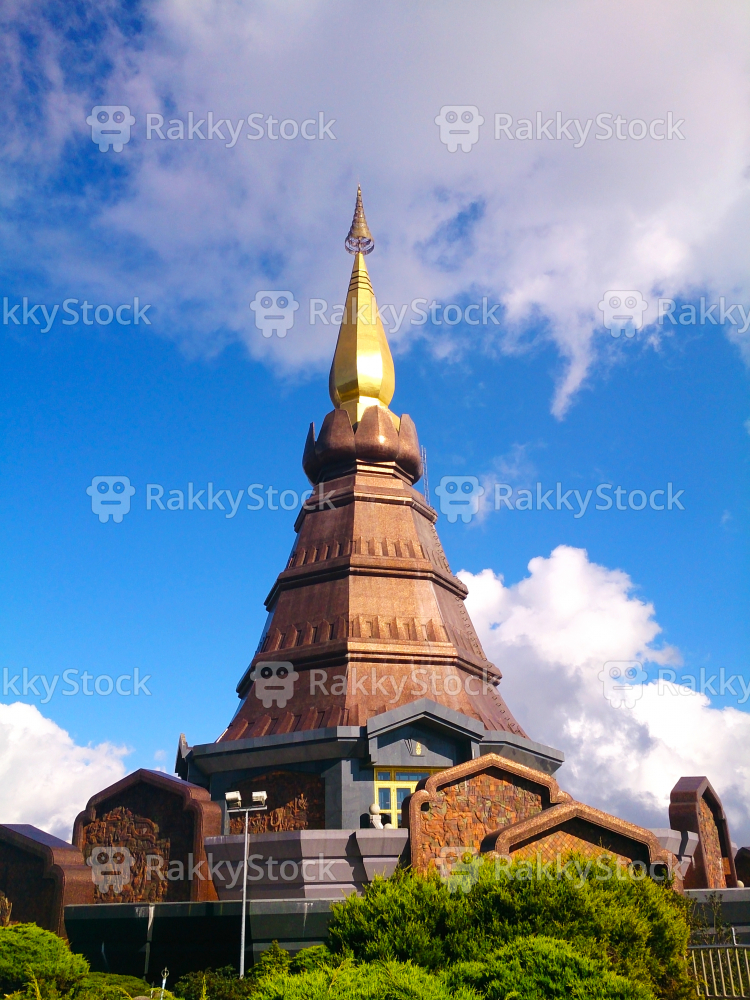 Pagoda Of Doi Inthanon