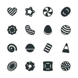 Candy Silhouette Icons | Set 2