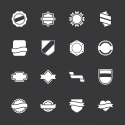 Label Icons Set 5 - White Series