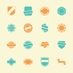 Label Icons Set 5 - Color Series