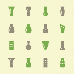 Vase Icons - Color Series