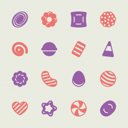 Candy Icons Set 2 - Color Series