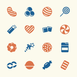 Candy Icons Set 3 - Color Series