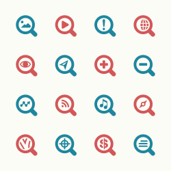 Search Engine Icons Set 1 - Color Series