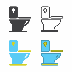 Flush Toilet Icon