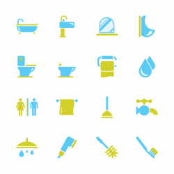 Bath and Bathroom - Color Series