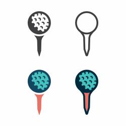 Golf Tee Icon