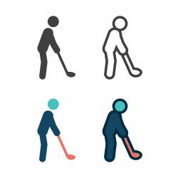 Golfer Icon