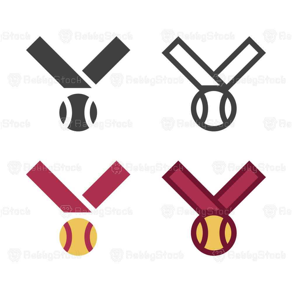 Baseball Medal Icon