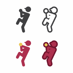 Baseball Pitcher Icon