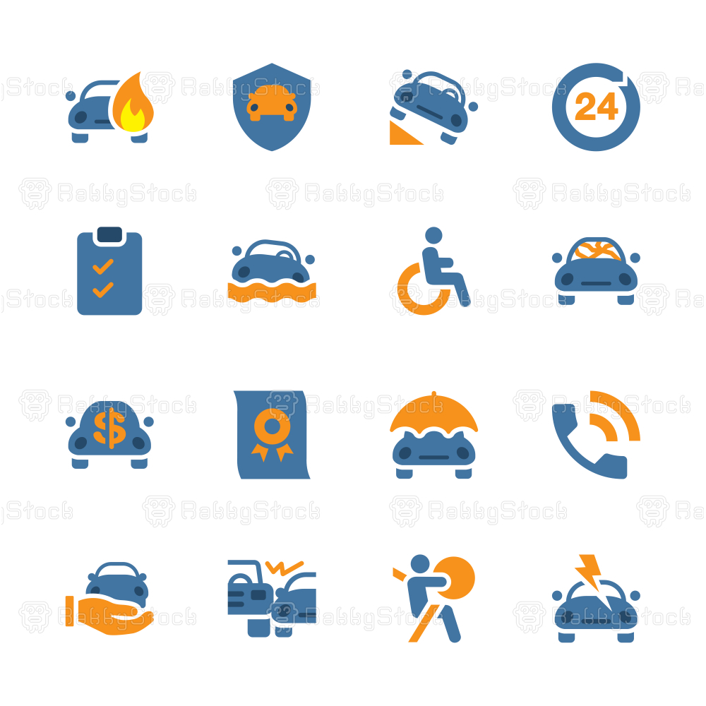 Car Insurance Icon - Color Series
