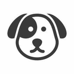 Dog Face Icon