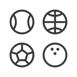 Sport Equipment Icon