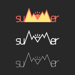suMMer - Typography Series