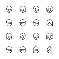 Avatar Icon - Line Series