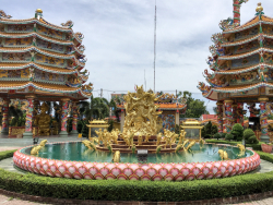 Naja Chinese Shrine, Chonburi, Thailand