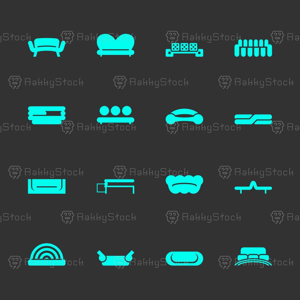 Sofa Design Icons