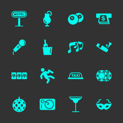 Nightlife Icons
