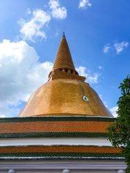 Large Golden Pagoda Thailand