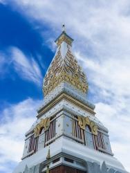 Pagoda of Wat Phra That Phanom, Thailand