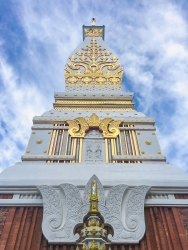 Pagoda of Wat Phra That Phanom, Thailand