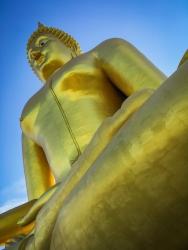 Large Golden Buddha, Thailand