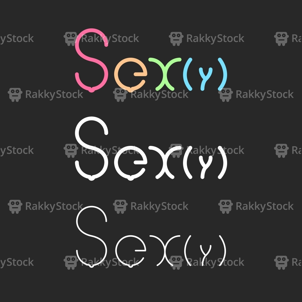 Sexy - Typography Series