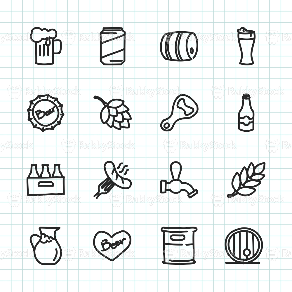 Beer Icon - Hand Drawn Series