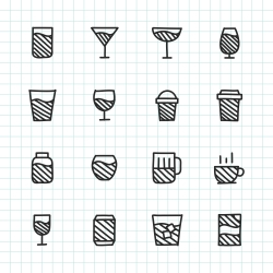 Drink Icon - Hand Drawn Series
