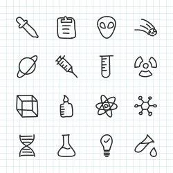 Science Icon - Hand Drawn Series