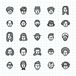 People Icon - Hand Drawn Series