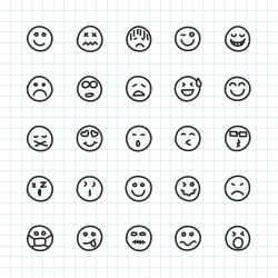 Emoji Icon - Hand Drawn Series