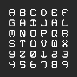 Bold Alphabet - Typography Series