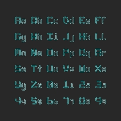 Thin Typescript Set - Typography Series