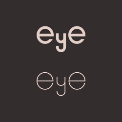 Eye - Typography Series