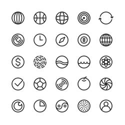 Circle Icon - Line Series
