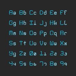 Regular Alphabet Set - Typography Series