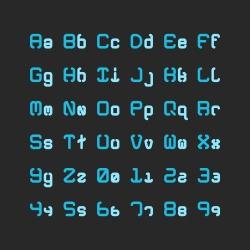 Bold Alphabet Set - Typography Series