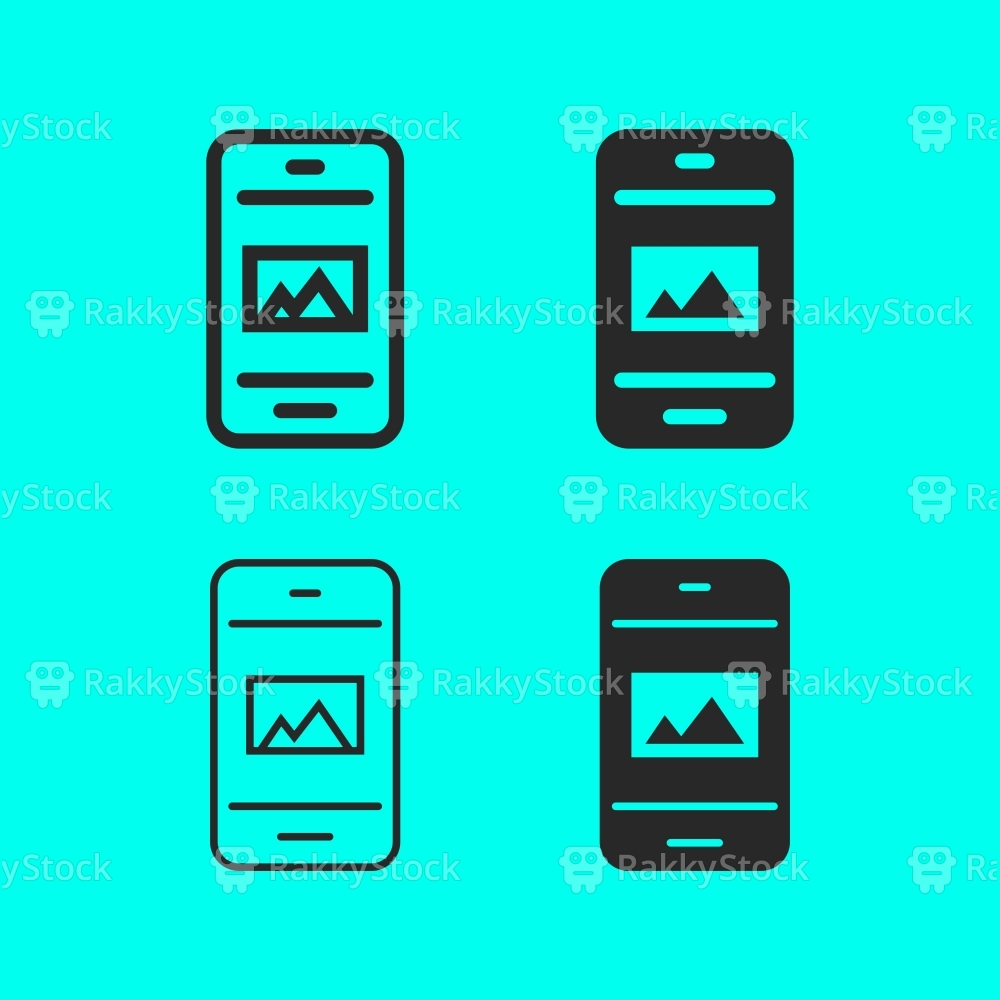 Mobile Image Viewer Icon