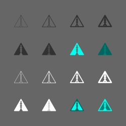 Tent Icon - Multi Series