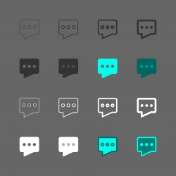 Chat Icon - Multi Series