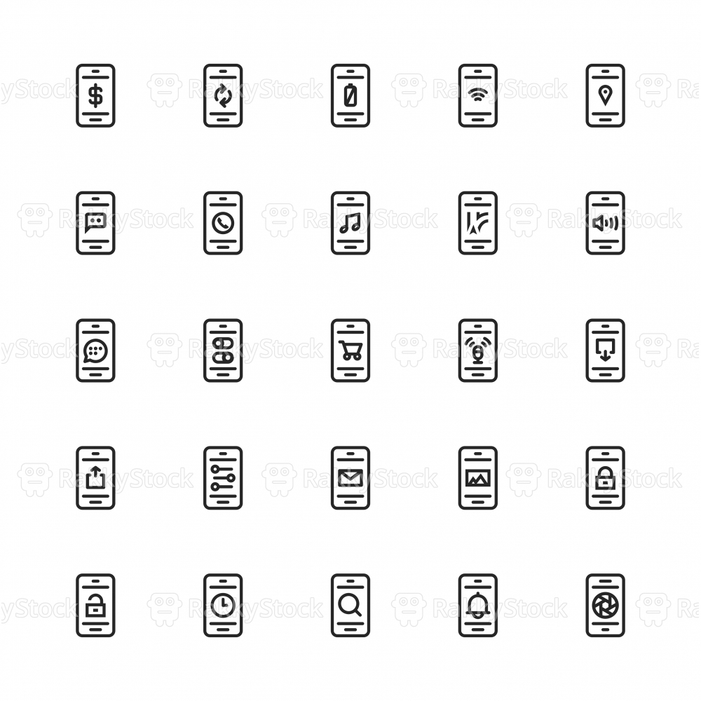 Mobile Applications - Line Series
