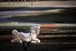 White Rocking horse.