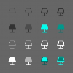 Lamp Icon - Multi Series