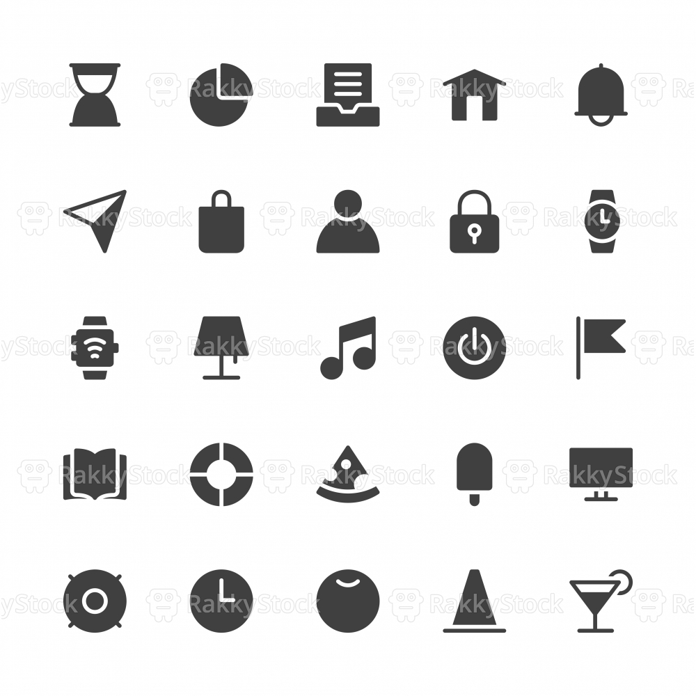 Universal Icon Set 2 - Gray Series
