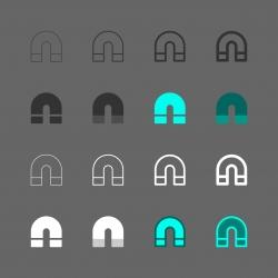 Magnet Icon - Multi Series