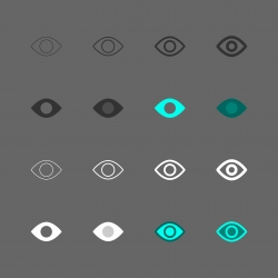 Eye Icon - Multi Series