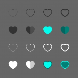 Heart Icon - Multi Series