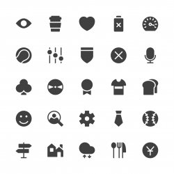 Universal Icon Set 5 - Gray Series